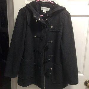 Liz Claiborne Hooded Wool Jacket